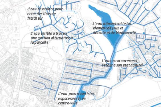 Réseaux révélés du projet Sevran Terre d'Avenir