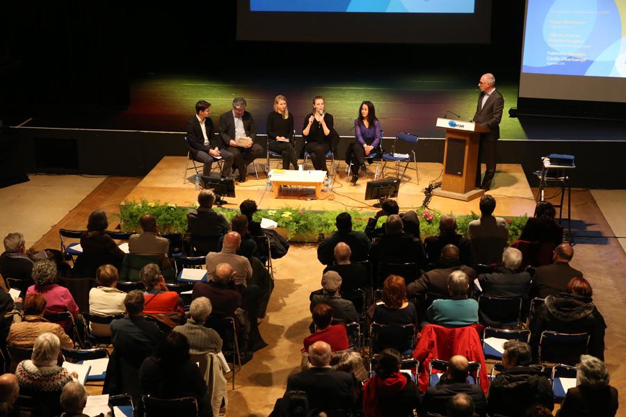 La réunion de restitution de la concertation publique Sevran Terre d'Avenir