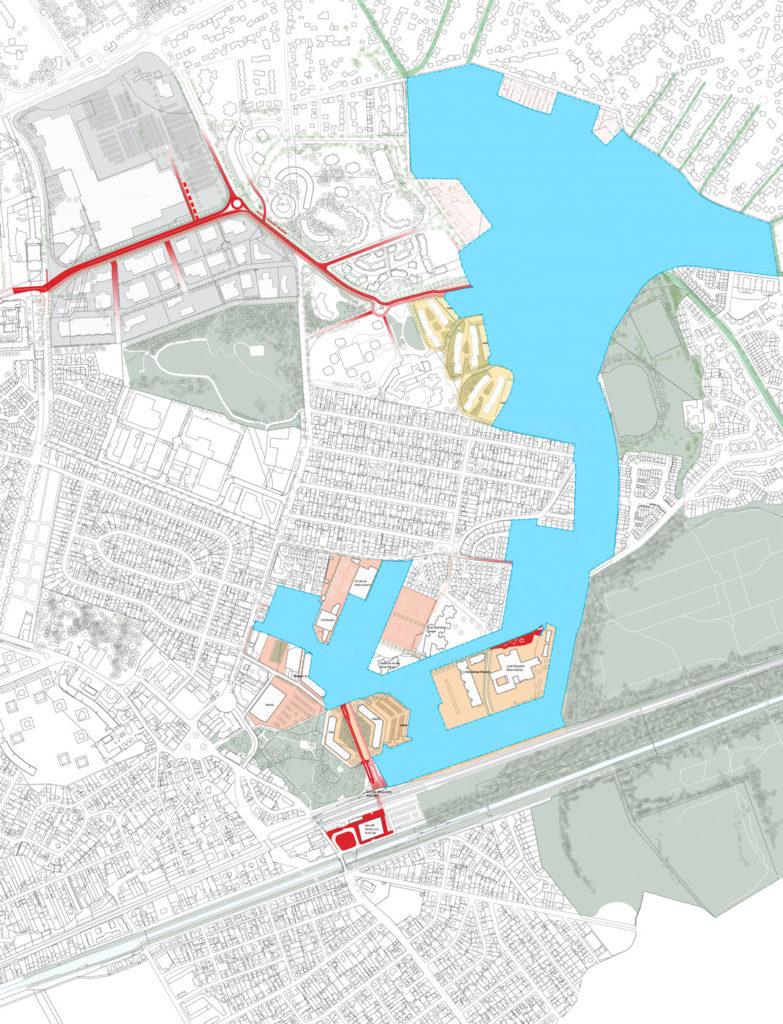 Plan d'aménagement ZAC Sevran Terre d'Avenir périmètre